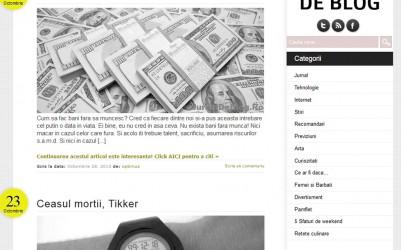 Jurnal de Blog