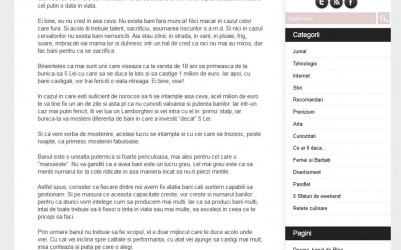 Jurnal de Blog